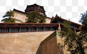 Beijing Summer Palace Landscape Twelve - Kunming Lake Longevity Hill Forbidden City Summer Palace PNG