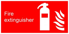 Extinguisher - Fire Extinguishers Sign Firefighting Foam Polyvinyl Chloride PNG