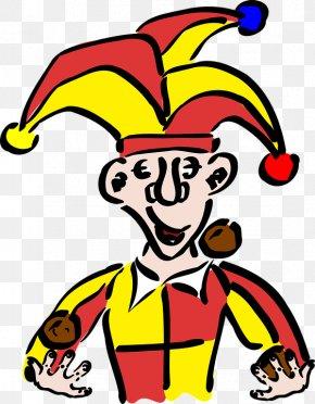 Clown - Joker Middle Ages Jester Clip Art PNG