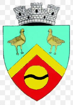 Shield - Coat Of Arms Of Romania Shield Crest Name PNG