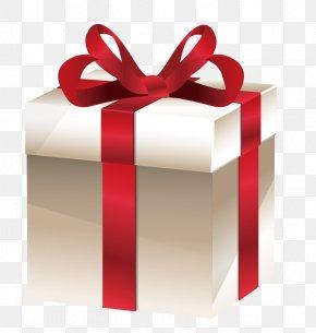 Vector Silver Gift - Gift Ribbon PNG