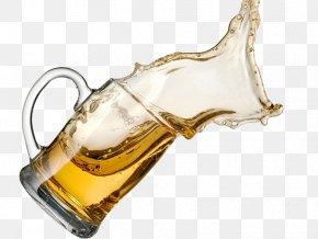 Liquid Spilled Beer - Beer Glassware Tea Coffee Draught Beer PNG