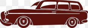 Vector Retro Car - Classic Car Automotive Design PNG