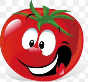 Tomato - Roma Tomato Cartoon Vegetable White Queen Tomato Clip Art PNG