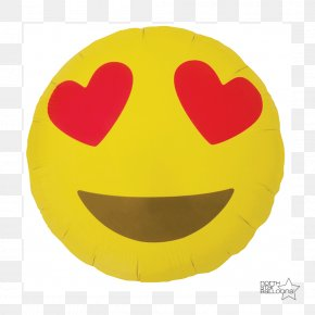 Emoji - Emoji Love Heart Balloon Clip Art PNG