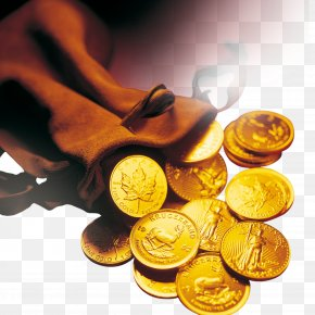 Gold Coins FIG. - Gold Coin High-definition Television Wallpaper PNG