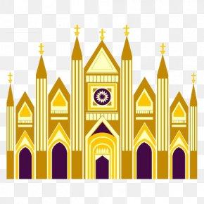 Gothic Church - Church Gothic Architecture PNG