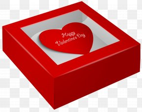 Happy Valentine's Day Box PNG Clip-Art Image - Valentine's Day Gift Heart Clip Art PNG