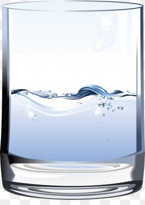 Water Glass - Drinking Water Euclidean Vector Glass PNG