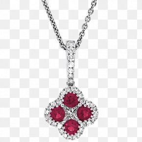 Necklace - Earring Necklace Pendant Jewellery Ruby PNG