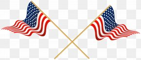 USA Crossed Flags Transparent Clip Art - Nordic Cross Flag Flag Of The United States Clip Art PNG