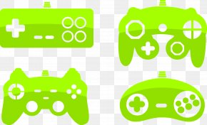 Vector Gamepad - Gamepad Video Game Console PlayStation Portable Clip Art PNG