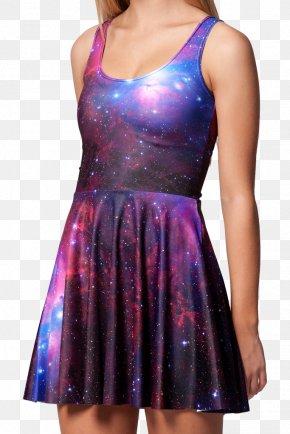 Dress - Dress Fashion Galaxy Casual Skirt PNG