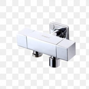 Full Square Copper Single Cold Triangle Valve Toilet - Tap Valve Toilet Angle PNG