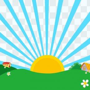 Simple Cartoon Background Free Download - Cartoon Wallpaper PNG