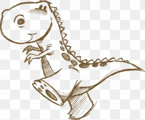 Dinosaur - Dinosaur Tyrannosaurus Cartoon PNG
