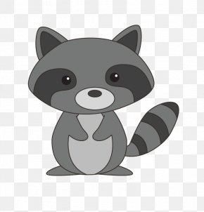 Cute Raccoon Fly Net - Squirrel Deer Weasel Raccoon Rodent PNG