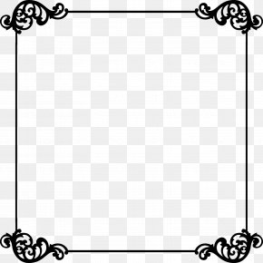 Simple Border - Borders And Frames Clip Art PNG