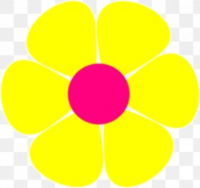 Whirlpool Cliparts - Circle Area Petal Yellow Pattern PNG