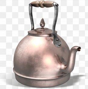 Kettle - Kettle Copper Teapot Metal Brass PNG