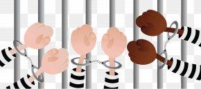 Prison Prisoners Handcuffs - Prisoner Handcuffs PNG