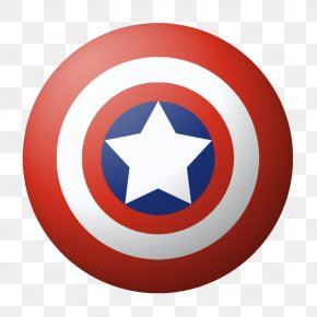 Round Captain America Shield PNG Image - Captain America's Shield Black Widow Iron Man PNG