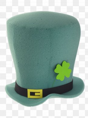 Leprechaun Hat - Leprechaun Hat Saint Patricks Day Clip Art PNG