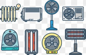 Vector Fan - Electricity Home Appliance Icon PNG