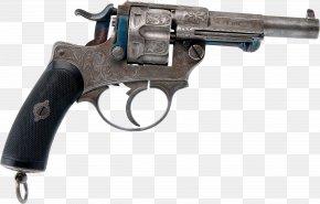 Weapon - MAS 1873 Revolver Gun Weapon Nagant M1895 PNG