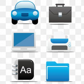 Vector Traffic Office Tools - Video Card Icon PNG