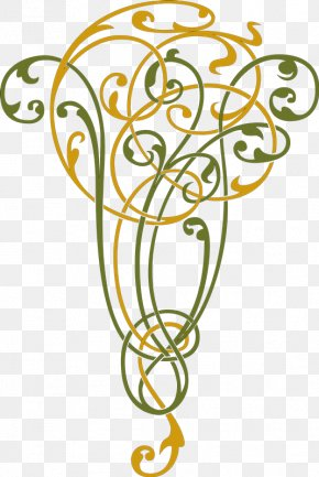 Tatuajes - Vignette Curlicue Calligraphy Panel PNG