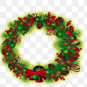 Wreath - Wreath Christmas Download PNG