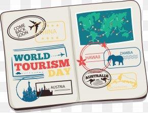 Tourist Passport - International Passport Travel Visa Euclidean Vector Icon PNG