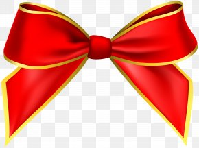 Red Bow Transparent Image - Red Clip Art PNG