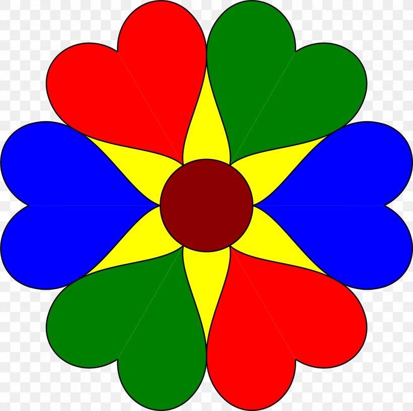 Flower Heart Clip Art, PNG, 2365x2358px, Flower, Blue, Color, Cut Flowers, Emoticon Download Free