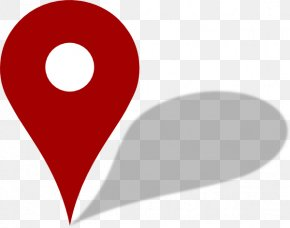 Map Red Pin - Map Clip Art PNG