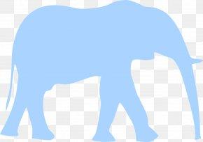 Elephants - Indian Elephant Clip Art PNG
