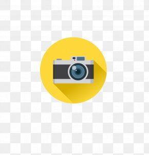 Cartoon Camera Icon - Photography Photographer Camera PNG