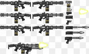 Machine Gun - Weapon Firearm Machine Gun Gatling Gun Minigun PNG