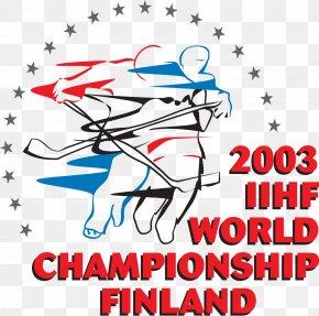 FINLAND - 2003 Men's World Ice Hockey Championships 2003 IIHF World Championship World Cup Of Hockey 2012 IIHF Women's World Championship International Ice Hockey Federation PNG