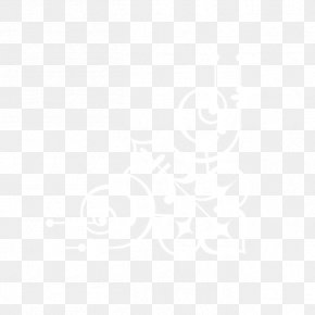 Corner Flower - White Icon PNG