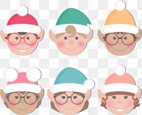 Six Cute Elf Avatar - Elf Download Cartoon Clip Art PNG
