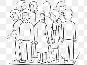 People's Rescue Team - Social Group Team Building Drawing Line Art Organization PNG