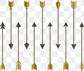 Flat Arrow Bow And Arrow - Arrow Euclidean Vector Icon PNG