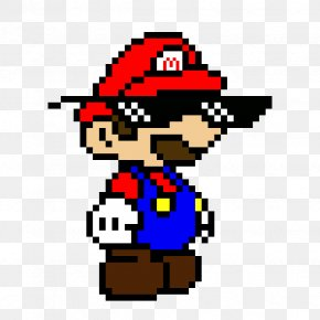 Paper Mario Mario Luigi Superstar Saga Pixel Art Png