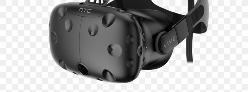 HTC Vive Oculus Rift PlayStation VR Head-mounted Display Samsung Gear VR, PNG, 1200x448px, Htc Vive, Audio, Black, Google Daydream, Hardware Download Free