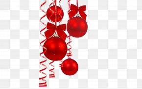 Red Christmas Decoration Ball - Santa Claus Christmas Ornament Christmas Decoration Christmas Eve PNG