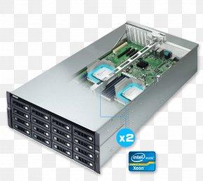 SATA 6Gb/s Network Storage SystemsSas - Computer Network QNAP Systems, Inc. QNAP 16-Bay TurboNAS SAS 12G TDS-16489U-SA1 QNAP TS-1673U-RP NAS Server PNG