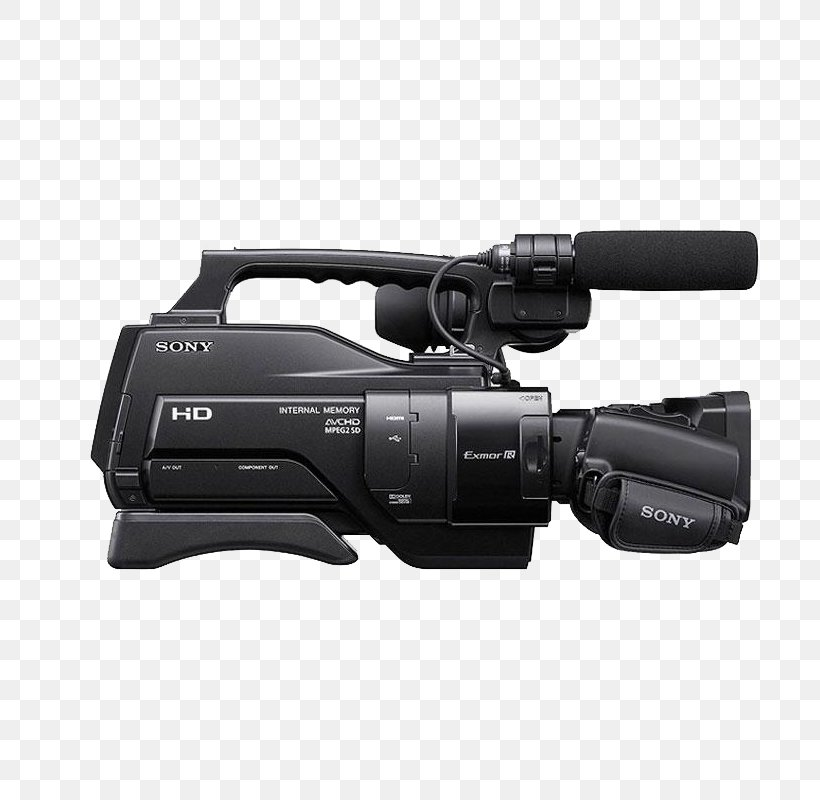 Professional Video Camera Sony AVCHD, PNG, 800x800px, Video Cameras, Avchd, Camera, Camera Accessory, Cameras Optics Download Free
