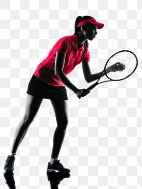 Tennis Player Backlit Photo - Tennis Player Sport PNG